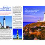Lighthouse magazine spread designed by Kathleen E. Wilson | © 2013