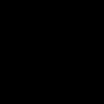 solid black header
