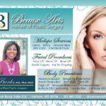 Beaux Arts Institute of Plastic Surgery half-page ad designed by Kathleen E. Wilson | © 2014
